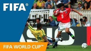 World Cup Highlights: Brazil - Chile, France 1998