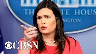Sarah Sanders Leaving White House At The End Of June, Trump Tweets