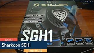 Sharkoon Headset SGH1 Unboxing | Besser als SADES?