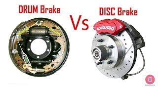 Drum Brake Vs Disc Brake | Which one is better [Hindi]