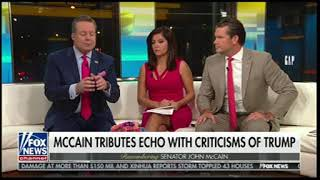 Fox & Friends Sneer And Jeer About McCain's Funeral
