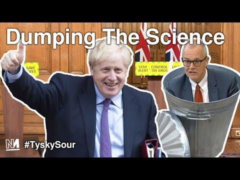 Johnson Dumping The Science | #TyskySour