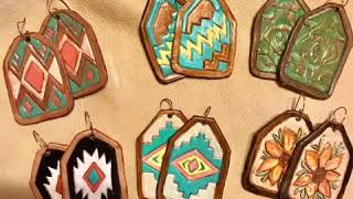 💃🏼Womans Leather Jewelry  🐴rodeo Cowgirl Style Jewelry  💥Latest Fashion Trends 💥