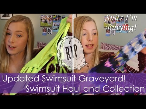 Updated Swimsuit Graveyard | Suit Collection Haul | Suits I'm Burying Fall 2016
