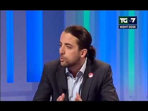 Europee 2014: Marco Furfaro, Lista Tsipras a TG La7 Night Desk