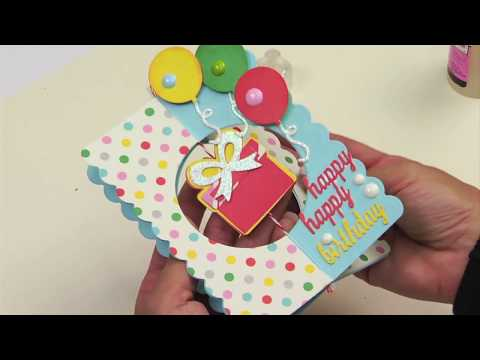 DIY 3-D Birthday Card (That Stands!) | Sizzix