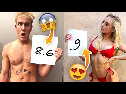 HOT Boys & Girls RATE Each OTHER 1-10!! (game)