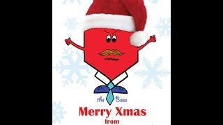 The Boss - Corporate Personalised Christmas Cards