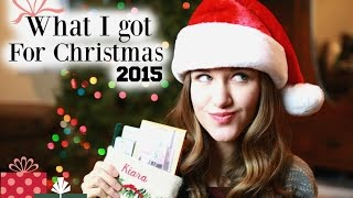 The Best What I Got for Christmas Video 2015!!