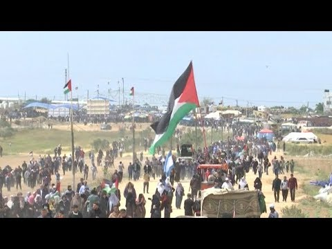 """Gaza: Palestinians Continue """"Great March of Return"""" Protests for Third Straight Week"""