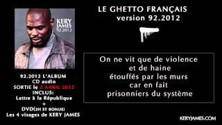 album kery james 92-2012