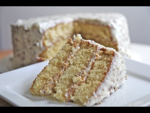 How to Make Italian Cream Cake Recipe + Frosting Recipe