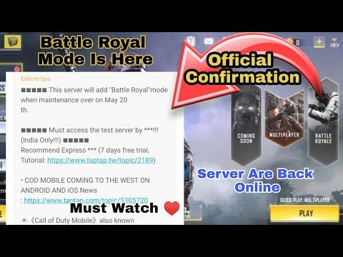 Cod Mobile Server Maintenance