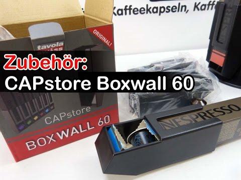 CAPstore Boxwall 60 im Test (Kapselhalter für Nespresso-Kapseln)