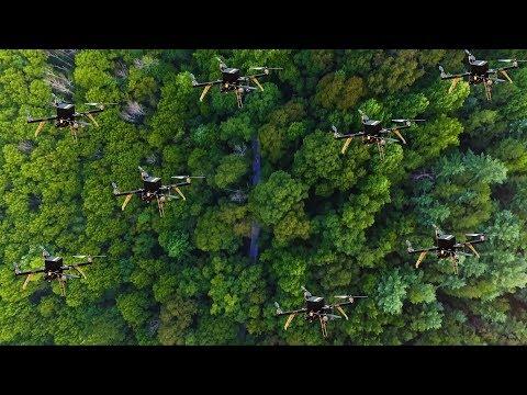 无人机车队可以帮助寻找迷失的徒步旅行者