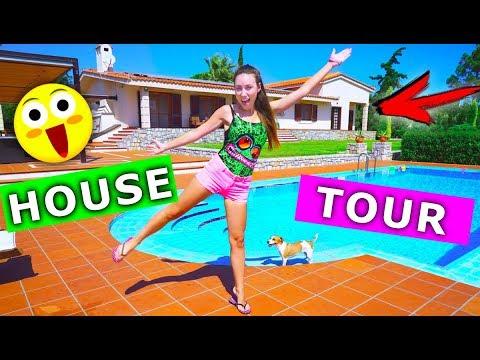РУМ ТУР ПО ДОМУ с бассейном на острове Крит House Tour | Elli Di