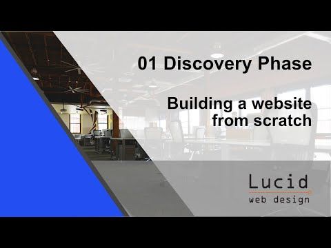 Video:01 Discovery Phase - Building a website from scratch