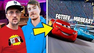 6 YouTubers SECRETLY IN MOVIES! (FGTeeV, MrBeast, DanTDM, KSI & FV FAMILY)