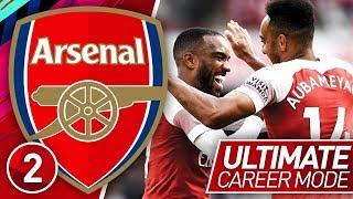 FIFA 19 ARSENAL CAREER MODE #2 | DREAM PARTERNSHIP! (ULTIMATE DIFFICULTY)