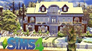 Construindo uma Casa de Inverno (Winter House) │The Sims 4 (Speed Build)