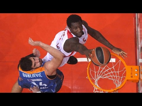 Highlights: Olympiacos Piraeus-Valencia Basket