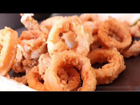 Calamares fritos o Calamares a la Andaluza