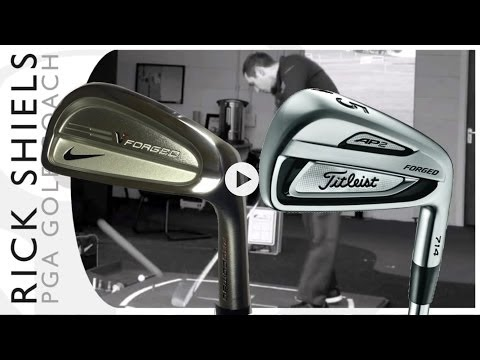 Nike VR Pro Combo Forged Vs Titleist AP2 714