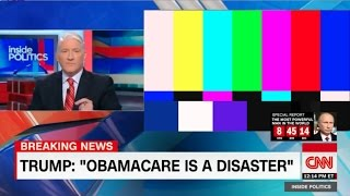 CNN Cuts Feed of Obamacare Victims Explaining Problems with Current Healthcare Laws