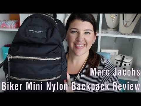 Marc Jacobs Biker Mini Nylon Backpack Review