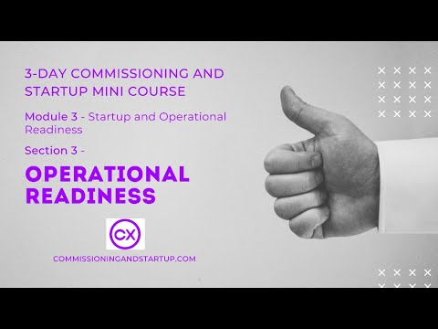 What is Operational Readiness