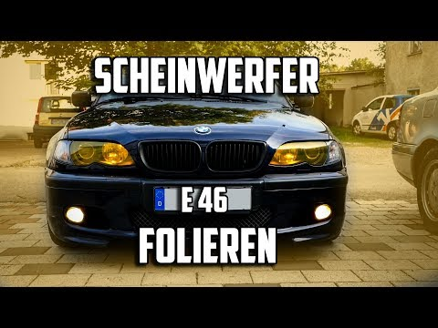 E46 Scheinwerfer folieren | E36 TAZ