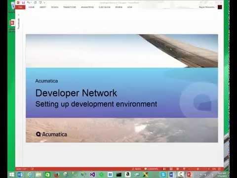 Setting up development environment