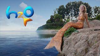 DIY H2O JUST ADD WATER  Mermaid Tail!