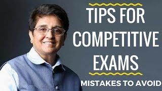 Tips for Competitive Exams Preparation | Mistakes to avoid