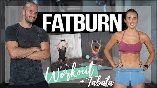 30 Minuten MAXIMALE FETTVERBRENNUNG   HIIT FATBURN Workout mit Hanteln