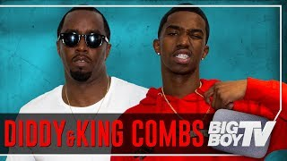 BigBoyTV - Diddy & King Combs on The Four, Rap Beef, NFL & A Lot More