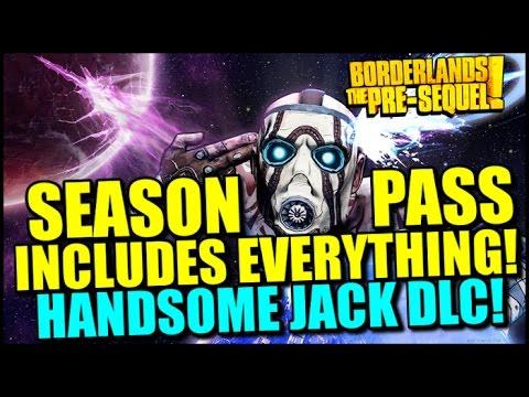 Borderlands The Pre-Sequel Season Pass