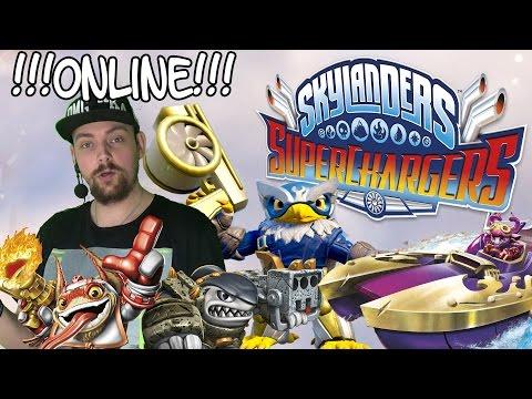Skylanders SuperChargers - ONLINE MODUS! Weitere Figuren und Fahrzeuge [HD] Deutsch