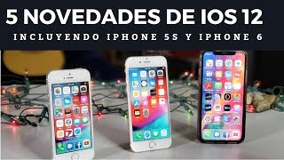 LomejordeiOS12paraiPhoneX,iPhone5s,yiPhone6