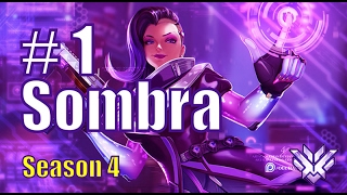 Codey #1 Sombra 40 ENEMY Hacked INSANE EMPs | King's Row | Overwatch Pro Gameplay