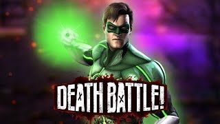 Green Lantern Powers Up for DEATH BATTLE!