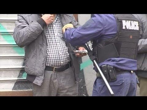 Επιχείρηση της Αστυνομίας στο κέντρο της Αθήνας