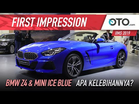 BMW Z4 & Mini Ice Blue | First Impression | Apa Kelebihannya? | OTO.com