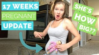 17 Week Pregnancy Update  |  BABY IS GETTING BIG!