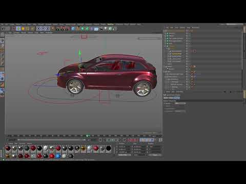 Cinema 4D Tutorial – How to use a Car rig to drive your own vehicle