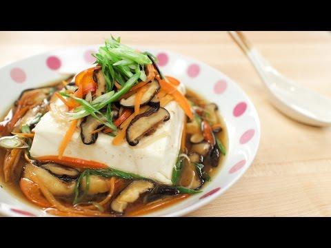 Steamed Tofu U201cDeluxeu201d เต้าหู้นึ่งทรงเครื่อง By Hot Thai Kitchen