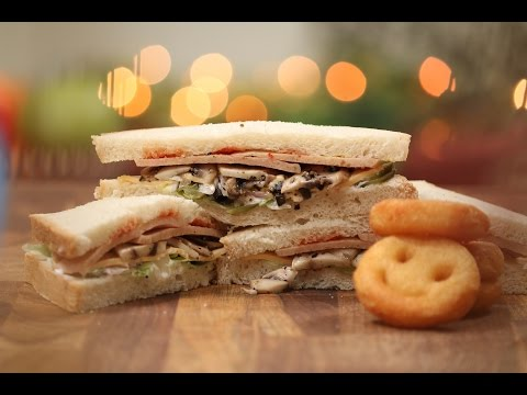 Chicken Salami Sandwich | Tiffin Treats by Roopa Nabar | Sanjeev Kapoor Khazana