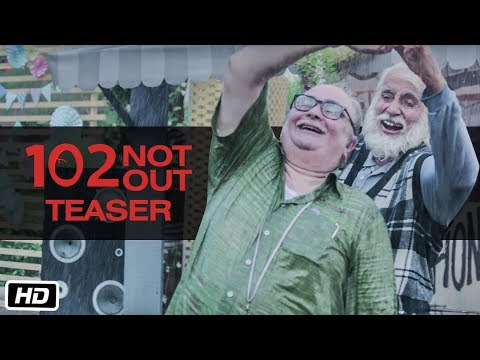 102 Not Out - Movie Trailer Image