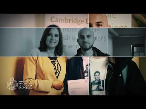video Programa de inglés como lengua extranjera de la Pontificia Universidad Católica de Valparaíso