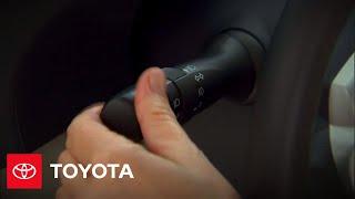 2010 Prius How-To: Headlamp Operation   Toyota